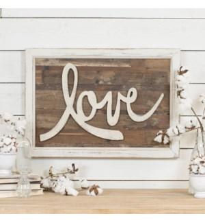 "WD. WORD ART ""LOVE"""