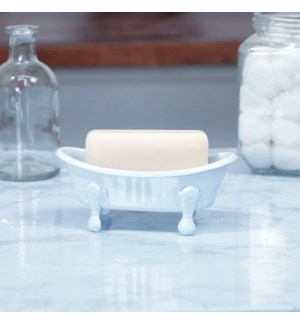 MTL. BATHTUB SOAP DISH