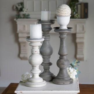 WD. CANDLE HOLDER SET/3 (2 sets/cs)