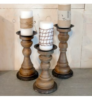 WD. CANDLE HOLDER SET/3