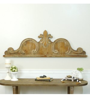 WD. SCROLL WALL DECOR 47""