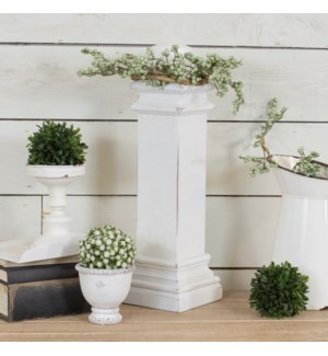 WD. DECORATIVE PEDESTAL