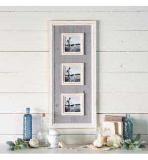 |WD. TRIPLE PHOTO FRAME|