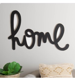 "WD. WALL ART ""HOME"""