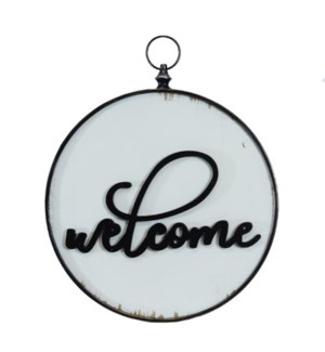 """MTL./WD. SIGN """"WELCOME"""""""