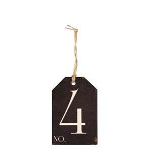 |WD. NUMBER 4 TAG|
