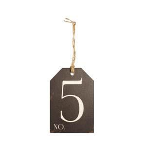 |WD. NUMBER 5 TAG|