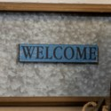|WD. MAGNET BLUE - WELCOME|