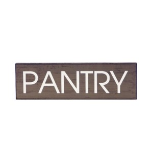 |WD. 5X16 SIGN GREY - PANTRY|