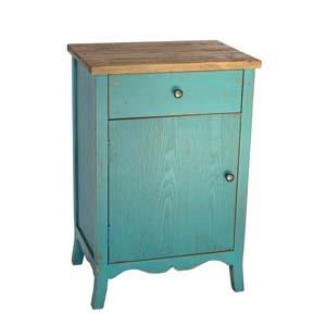 (DISC) WD. END TABLE - Blue (1/cs)