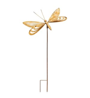 """MTL. 36.25"""" BUTTERFLY  STAKE"""