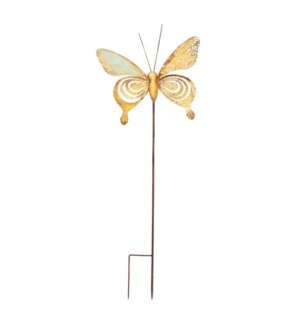 """MTL. 36"""" BUTTERFLY  STAKE"""
