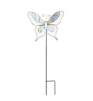 """MTL. 43.5"""" BUTTERFLY STAKE"""