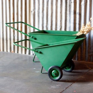 |MTL. WHEELBARROWS SET OF 2 (1/cs)|