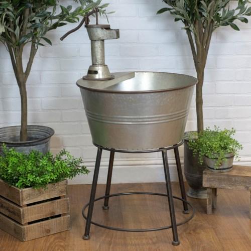 Mtl Galvanized Tub Garden Planters Vip Home And Garden