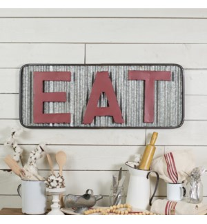 "MTL. ""EAT"" SIGN"