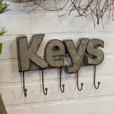 "|MTL. ""KEYS"" HOOK (8/cs)
