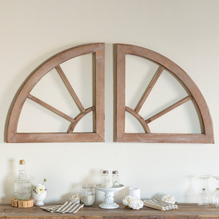 WD. TWO PIECE WALL DECOR