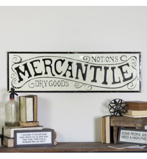 "MTL SIGN ""MERCANTILE"""