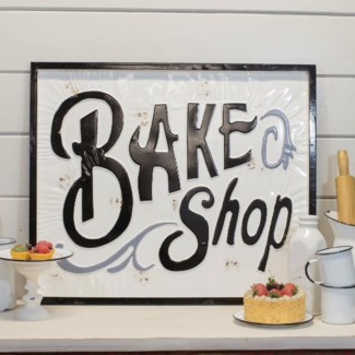 "|MTL. SIGN ""BAKE SHOP"" (4/cs)