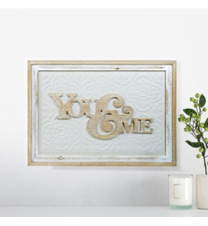 "WD. SIGN ""YOU&ME"""