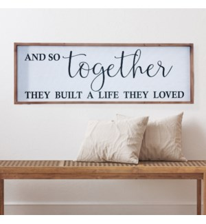 "WD. SIGN ""TOGETHER"""