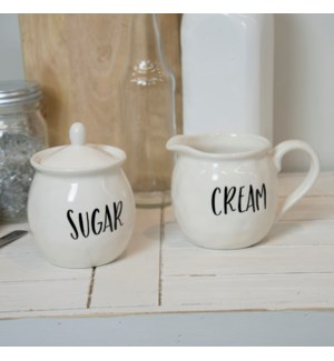"CER. ""CREAM/SUGAR"" CUPS"