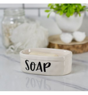 CER. SOAP DISH