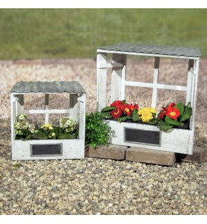 |WD.PLANTER BOX S/2|