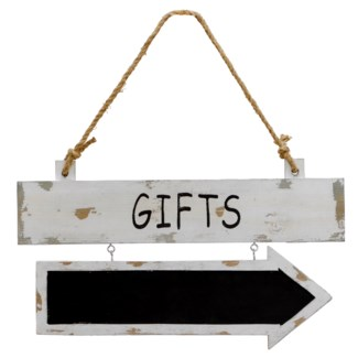 "|WD. SIGN ""GIFTS"" (24/cs)