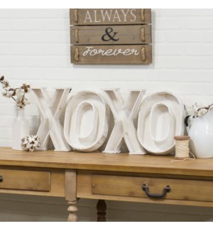 "|WD. LETTERS ""XOXO""