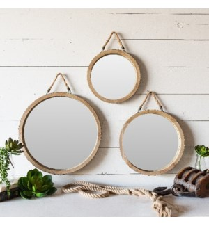WD. FRAMED MIRRORS S/3