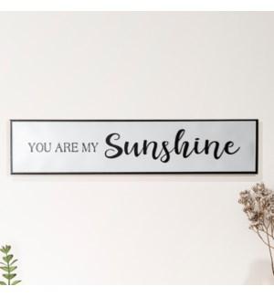 "MTL. SIGN ""SUNSHINE"""