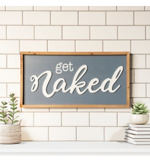 "WD. SIGN ""NAKED"""