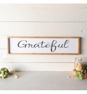 "WD. SIGN ""GRATEFUL"""
