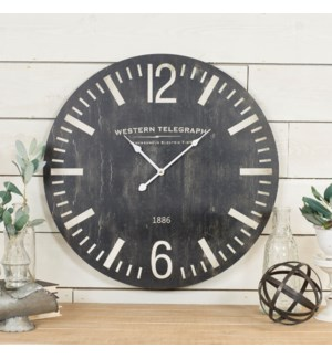 WD. WALL CLOCK 23""