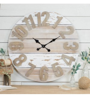 WD. WALL CLOCK 30""