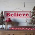 """MTL. SIGN """"BELIEVE"""" (8/cs)"""