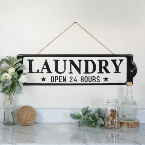 "|MTL. SIGN ""LAUNDRY""