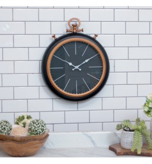 MTL. WALL CLOCK 17""