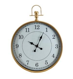MTL./WD. WALL CLOCK