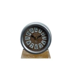 MTL. FRAMED TABLE CLOCK