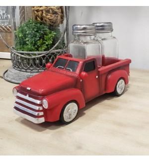 Resin Red Truck S&P Shaker