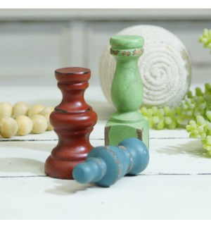 |WD. KNOBS SET OF 3|