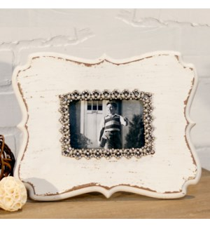 |WD. JEWELED PICTURE FRAME|