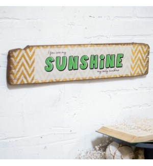 |WD. SIGN 'SUNSHINE' - 24"