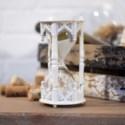 MTL. HOUR GLASS WHITE (12/cs)