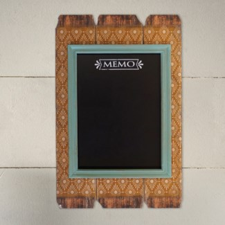 |WD. FRAMED MAGNETIC CHALK BOARD (4/cs)|