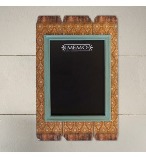 |WD. FRAMED MAGNETIC CHALK BOARD|