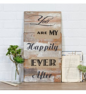 |WD. SIGN HAPPILY EVER AFTER|